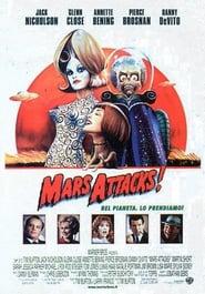 Mars Attacks! 1996 Poster