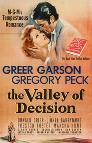 The Valley of Decision Poster