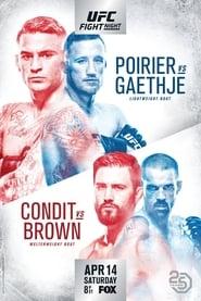 Regarder UFC on Fox 29: Poirier vs. Gaethje