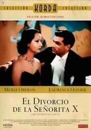 El divorcio de la señorita X