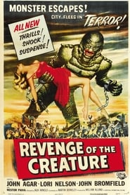 Poster Revenge of the Creature 1955