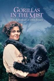 Poster Gorillas in the Mist 1988