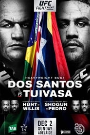 UFC Fight Night 142: dos Santos vs. Tuivasa movie