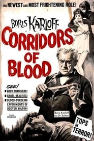 Poster Corridors of Blood 1958