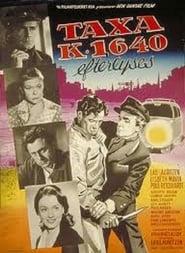 Affiche de Film Taxa K-1640 efterlyses