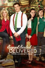 Signed, Sealed, Delivered for Christmas poster