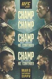 UFC 259: Blachowicz vs. Adesanya (2021)