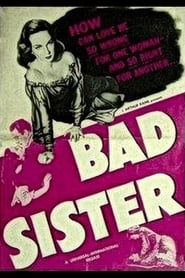 The Bad Sister plakat