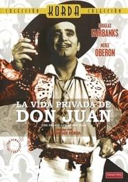 pelicula La vida privada de Don Juan