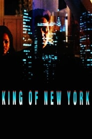 Poster King of New York 1990