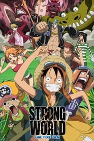 Poster One Piece Film: Strong World 2009