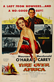 Affiche de Film Fire Over Africa