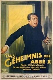 Das Geheimnis des Abbe X 1927