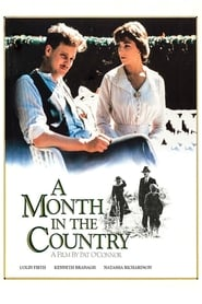 Poster A Month in the Country 1987