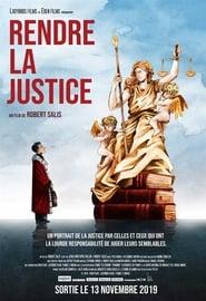 Poster Rendre la justice 2019