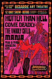 All Night At The Bizarre Art Theatre Poster