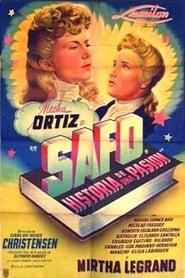 Safo, historia de una pasión 1943