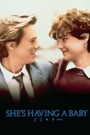 Poster She's Having a Baby 1988
