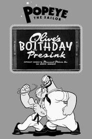 Olive's Boithday Presink 1941