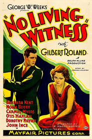 No Living Witness 1932