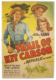 Affiche de Film Trail of Kit Carson