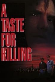 Poster A Taste for Killing 1992