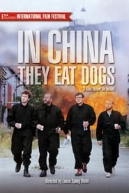 Poster In China They Eat Dogs 1999