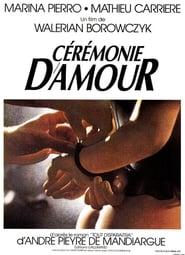 Cérémonie d'amour 1987