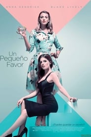Poster de Un pequeño favor (2018)