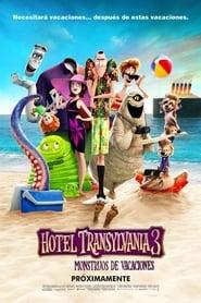Poster de Hotel Transilvania 3: Unas vacaciones monstruosas (2018)