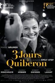 voir film 3 jours à Quiberon streaming