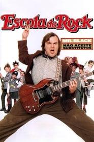 Escola de Rock poster, capa, cartaz