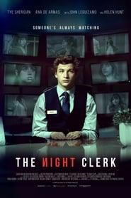 Poster for The Night Clerk (2020)