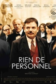Film Rien de personnel streaming VF complet