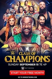 Poster for WWE Clash of Champions 2019 (2019)