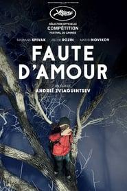 Faute d'amour 2017