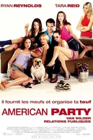 American party Van Wilder relations publiques