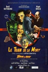 Sherlock Holmes et le train de la mort affiche du film