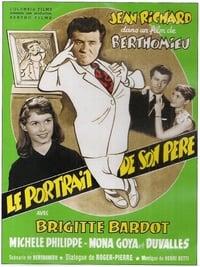 Le portrait de son père affiche du film