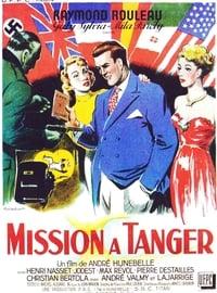 Mission à Tanger affiche du film
