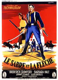 Le Sabre et la flèche affiche du film