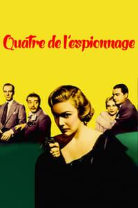 Quatre de l'espionnage affiche du film