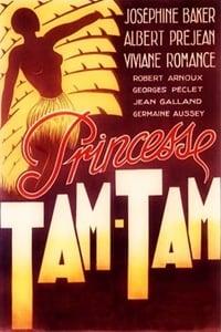 Princesse Tam-Tam affiche du film