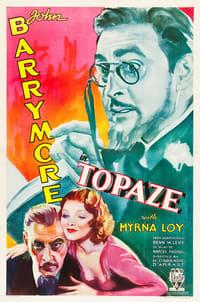Topaze affiche du film