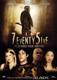 75 secondes pour survivre affiche du film