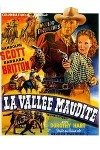 La Vallée maudite affiche du film