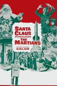 Le Père Noël contre les Martiens affiche du film