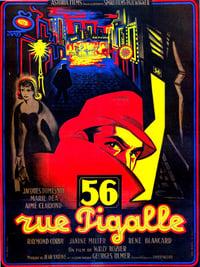 56, rue Pigalle affiche du film