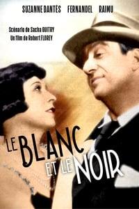 Le blanc et le noir affiche du film