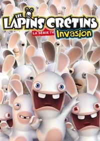 Les Lapins Crétins : Invasion affiche du film